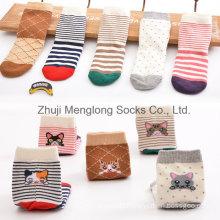 2016 New Designs Cat Pattern Kid Cotton Socks