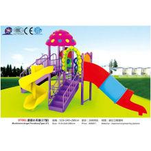 Mushroom Angel Paradise ao ar livre para as crianças brincam de diversão