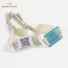 13,56mhz MIFARE Classic 1K Fabric RFID Wristbands