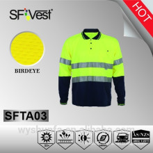 2015 new product hi vis polo shirt for workwear