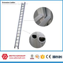 Escaleras de extensión de cuerda, escaleras de extensión de aluminio para la venta, escaleras de extensión de aluminio