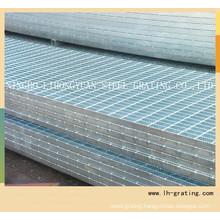 Hot Galvanizing Steel Grating with Serrated Type