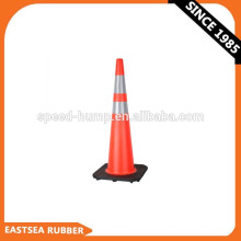 Orange 36inch PVC reflektierender Verkehrskegel