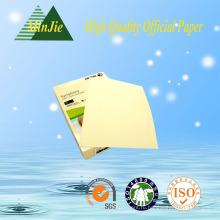 Желтая цветная бумага A4 Размер 70GSM Бумага для копировальной бумаги