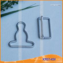 Hebilla de calabaza de metal para los accesorios de la ropa KR5145