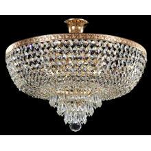 Lámpara de techo de cristal (CL 5272/5 FGD + WT)