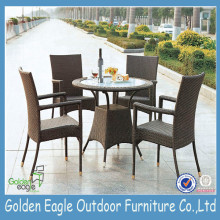 PE Rattan Garden Outdoor Wicker Table Furniture