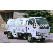 Camion de collecteur de déchets de cuisine