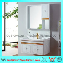 Aluminum Bathroom Wash Basin Cabinet Modern Bathroom Vanity 800mm