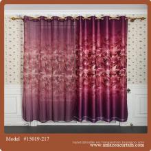 Precio de fábrica sala de cortina material
