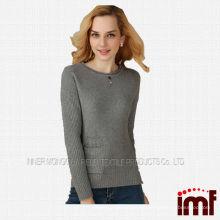 Jersey de cachemira suéter de lana shetland