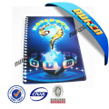 New Design 3 D Lenticular Spiral Notebook