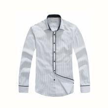 Art- und Weiseart-Männer lange Hülsen-Art- und Weise nehmen passendes Kleid-Hemd ab