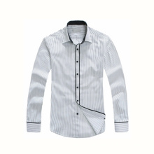 Fashion Style Men′s Long Sleeves Fashion Slim Fit Dress Shirt