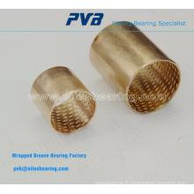 Base sur bagues en bronze laminé standard WB802, roulement en bronze fritté