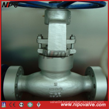 Cast Steel Pressure Sealing Flanged Globe Valve