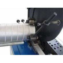 Máquina espiral espiral flexible del papel de aluminio (tubo de aluminio)