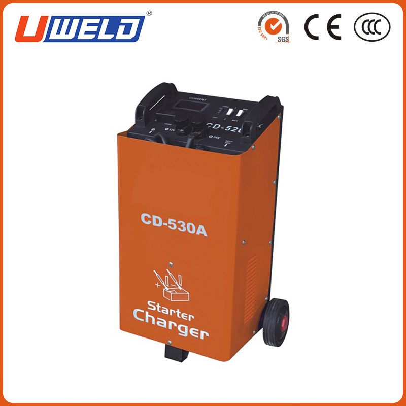 Manual Wheel Battery Starter Welding Machine