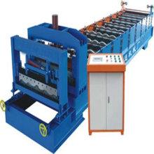 Costura de aluminio que forma la máquina