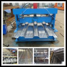 Feuille de toiture en acier galvanisée formant la machine