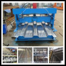 Formación de la hoja de acero para techos de galvanizado
