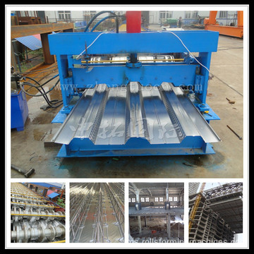 ZT-003-18 Sheet Deck Floor Metal Roll Forming Machine