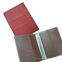 A5 Portfolio, pasta de anel de metal, pasta de arquivo, capa Diary