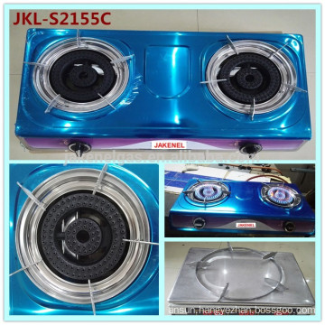 stainless steel double burner gas cooker stove,gas cooker