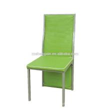 Banquete Cadeira de jantar, Metal Restaurant Chair Backrest