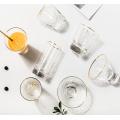Creative glass juice cup