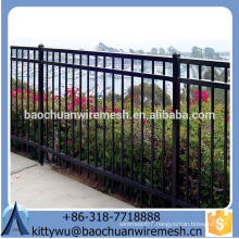 Metal pipe wrought iron fence& steel fence& aluminum fence