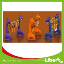 Rack de créations pour enfants série d'articles de jouet pour enfants LE.SK.011