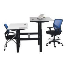 Adjustable Sit Stand Up Desk 2 Person Work