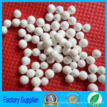 Adsorbente de alúmina activada blanco del proveedor de la fábrica para la venta