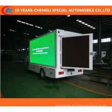 4X2 LED-LKW, out-Tür beweglicher LED-Werbungs-LKW, Anzeigen-LED-LKW für P10, P8, P6 Schirm-Effekt