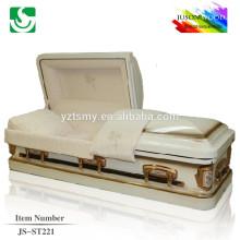 good quality metal casket factory JS-ST221