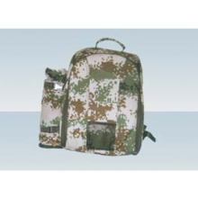 Foursome military camouflage picnic bag