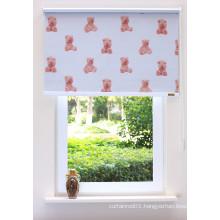 Lovely cartoon roller blinds customize for babyroom