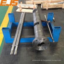 38CrMoAlA nitrierten Kunststoffumspritzung Schnecke und Zylinder