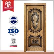 Fabricante de madeira de porta de madeira de luxo