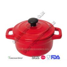 Ensembles de casserole rouges promotionnels