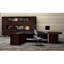 Инновационный дизайн Современный деревянный офис Исполнительный директор Мебель для стола (HF-LTA127)