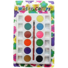 kids children painting watercolor paint dry set