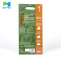 Flat Bottom Plastic Pet Food Pouch With Window