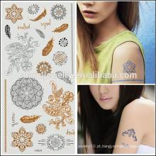 OEM atacado tatuagens de venda quente temporária design de tatuagem corpo da moda para a senhora sexy V4624