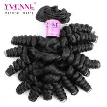 Weave não processado do cabelo humano de Virgin Fumi