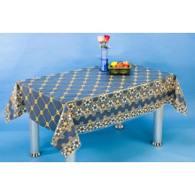 PVC Transparent Tablecloth with Nt Pattern (NT0001B)
