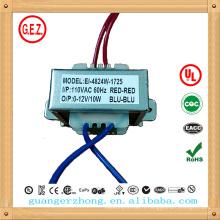 le plus populaire EI 48 240v 12 volts 1,5 ampère transformateur