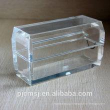 Caixa de cristal simples e bonita para casa decortion ou casamento obrigado presentes