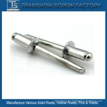 Remache ciego de acero de aluminio